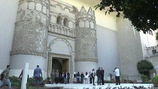 المتحف الوطني بدمشق يعيد فتح أبوابه لأول مرة منذ سبع سنوات