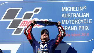 Maverick Vinales wins MotoGP