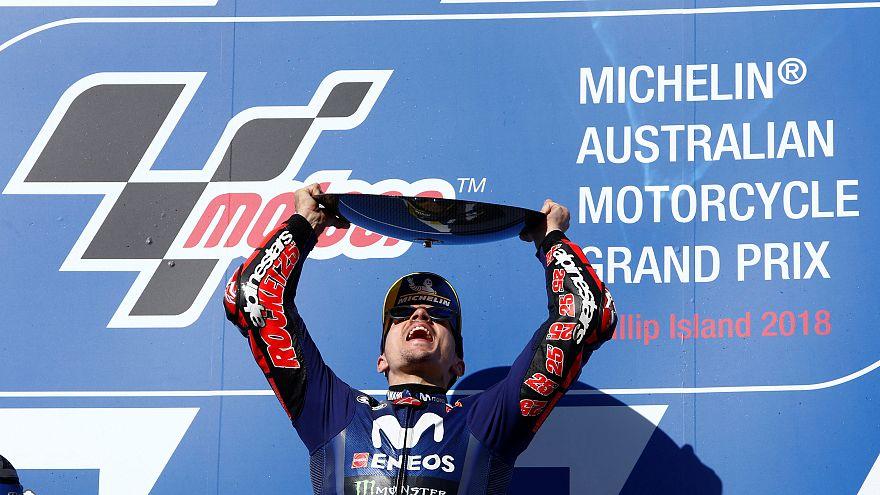 MotoGP : Vinales s'impose à Melbourne