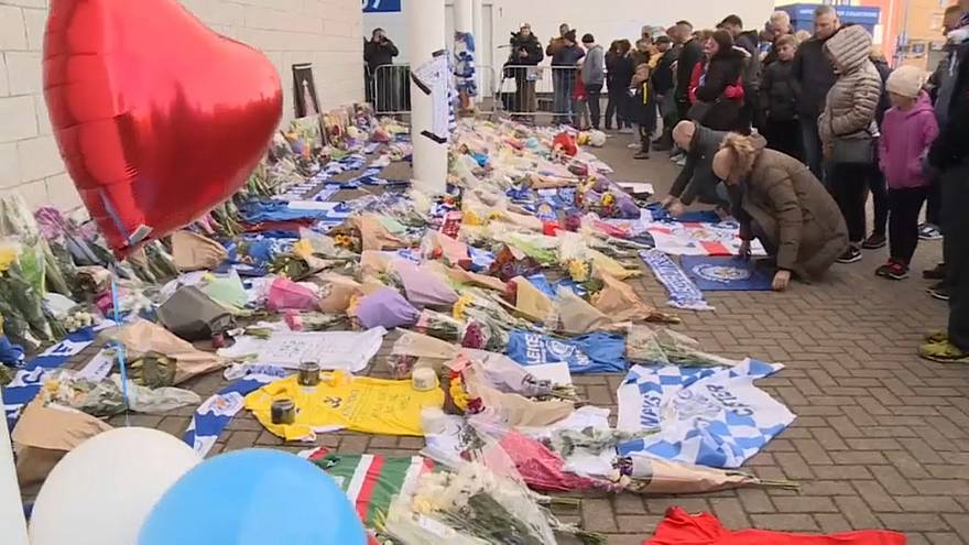 A csapat tulajdonosát gyászolják a Leicester City szurkolói