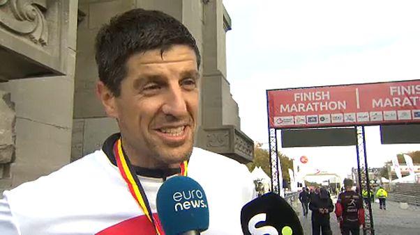 Maratont futott a brüsszeli terrortámadás sebesültje