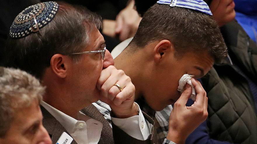 Pittsburgh synagogue shooting treated as hate crime, victims' families 'in shock'