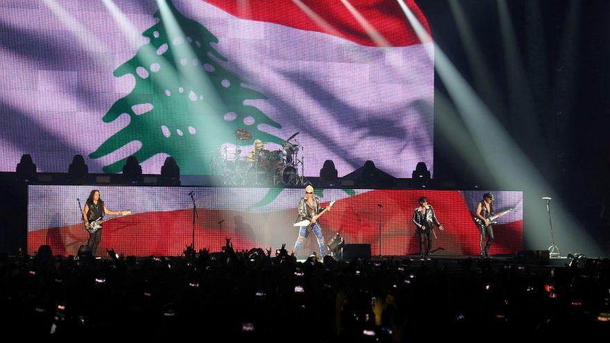 کنسرت گروه راک «اسکورپیونز» در لبنان