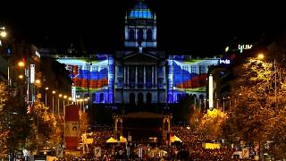 Praga celebra el centenario de Checoslovaquia