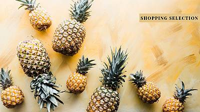 Pineapple 'leather' goods