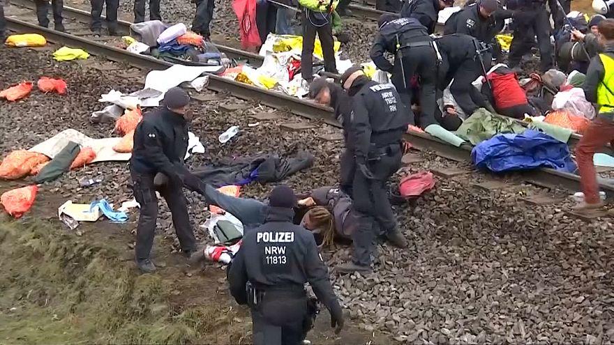 Polícia alemã deteve mais de uma centena de ativistas ambientais