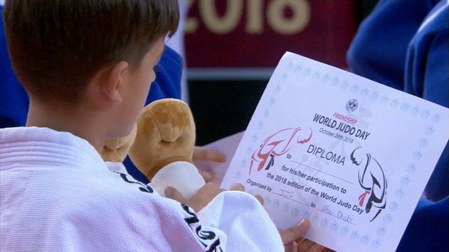 Ιστορική συμμετοχή του Ισραήλ στο Grand Slam τζούντο στο Αμπού Ντάμπι
