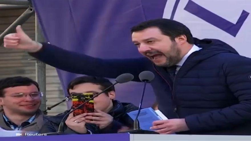 """Francia: """"alle europee fermate Salvini"""""""