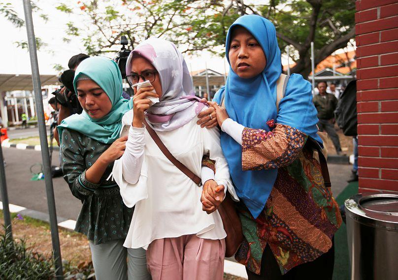 Indonesia: los 189 ocupantes del avión que se estrelló estarían