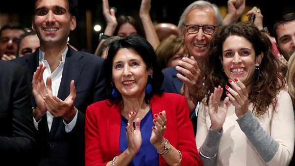 Stichwahl um Präsidentenamt in Georgien