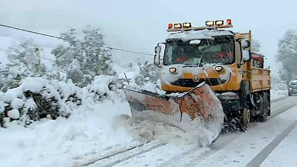Váratlan drasztikus hideg Spanyolországban