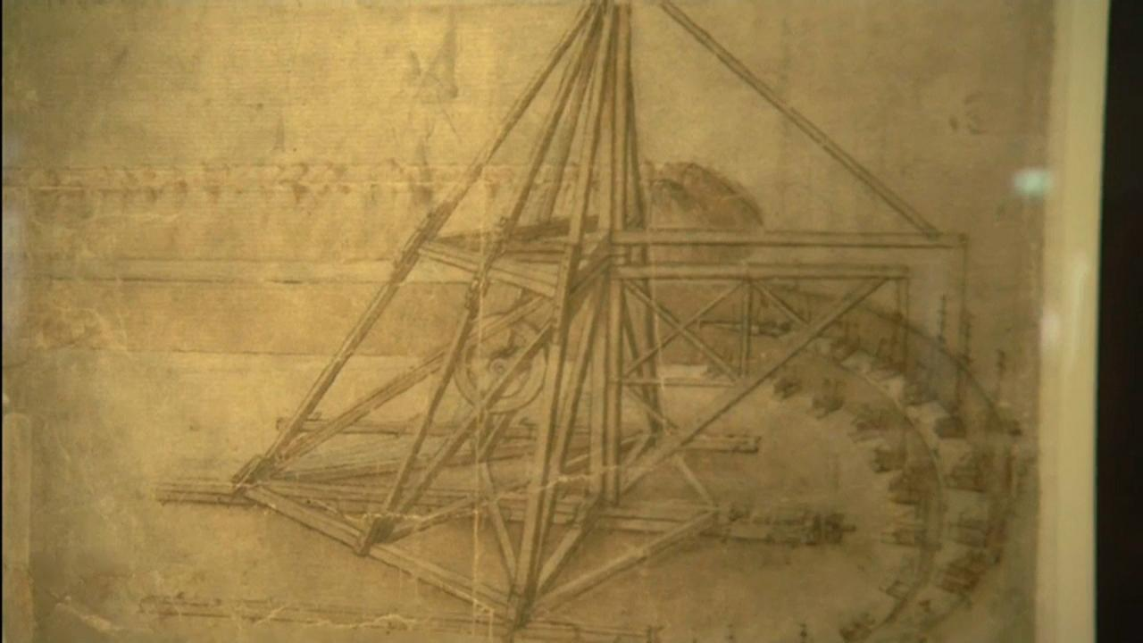 Florence retrouve le Codex Leicester de Léonard de Vinci
