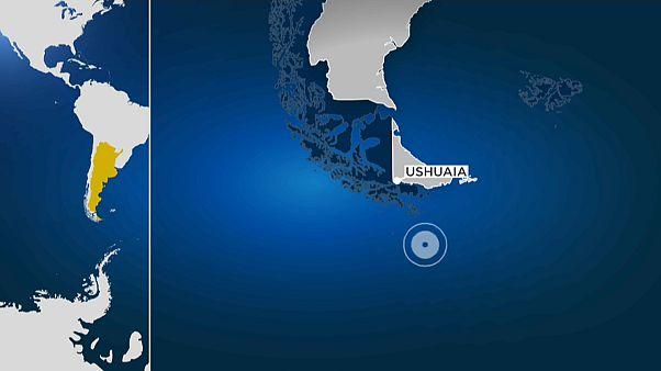 Un terremoto de magnitud 6,4 sacude el sur de Ushuaia en Argentina