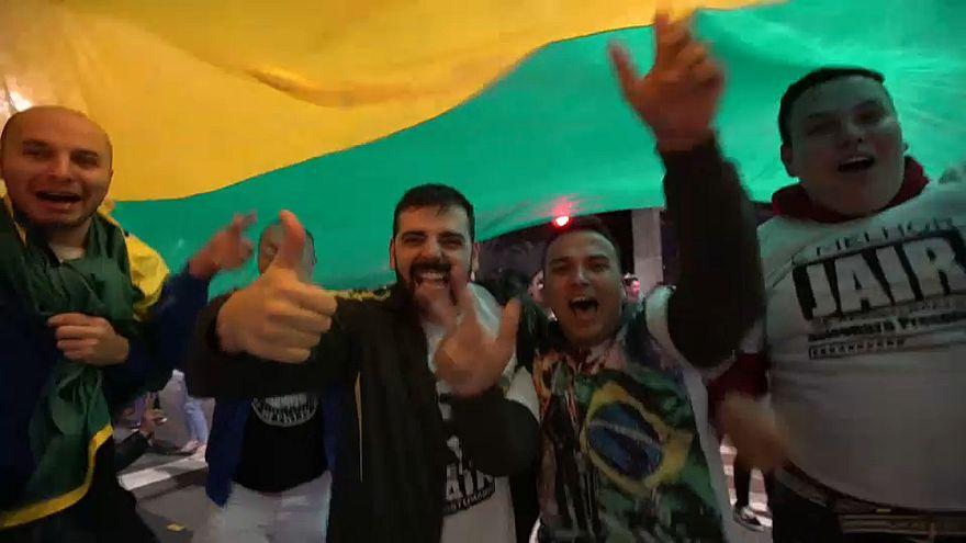 Mundo reage à vitória de Bolsonaro
