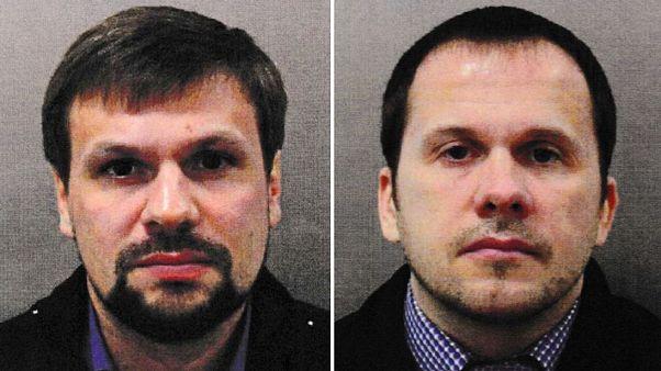 Caso Skripal: polícia identifica Alexander Petrov e Ruslan Boshirov como suspeitos