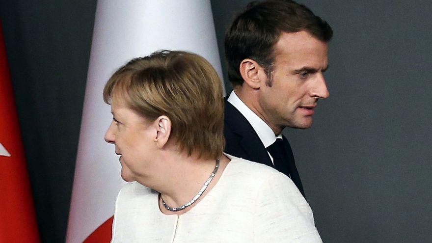 Macron y Merkel se reúnen para hablar de Europa