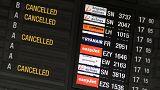 La huelga en el aeropuerto de Bruselas obliga a cancelar cientos de vuelos