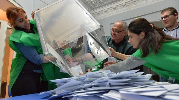 Második körben dőlhet el a grúz elnökválasztás
