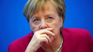 German Chancellor Angela Merkel on October 29, 2018.