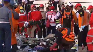 Indonésie : 189 morts après un crash en mer