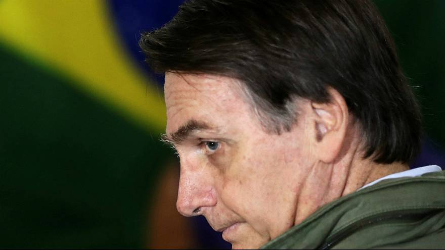 Jair Bolsonaro promete uma revolução governativa no Brasil