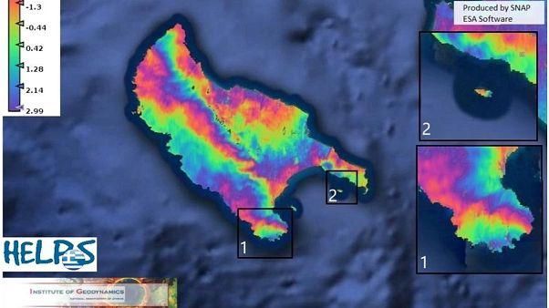 Nuevo terremoto de 5,3 en la isla griega de Zante