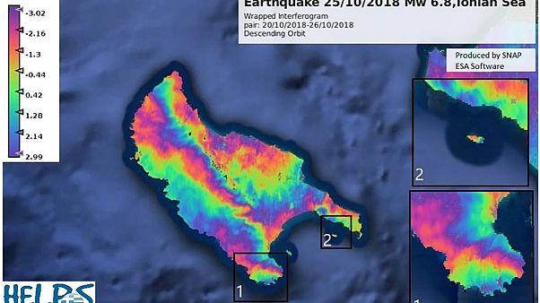 Η Ζάκυνθος μετακινήθηκε τουλάχιστον τρία εκατοστά μετά τον σεισμό