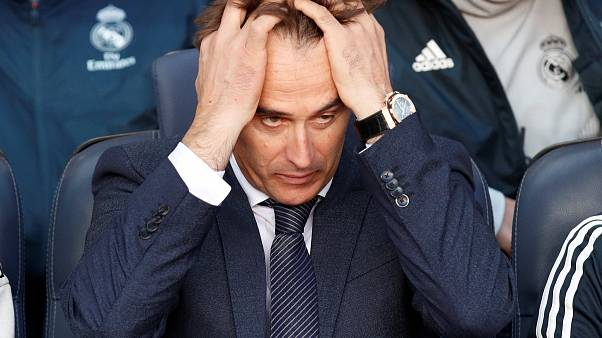 Julen Lopetegui durante el partido Real Madrid-FC Barcelon