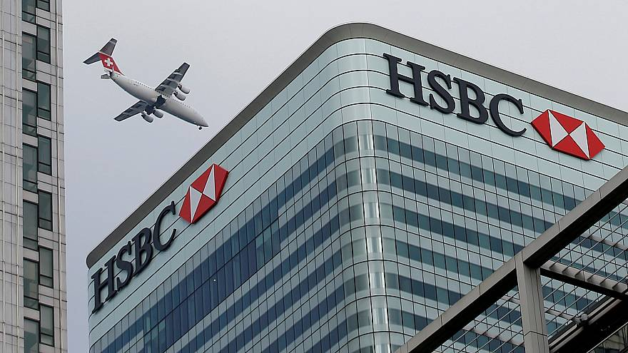 hsbc helps boost ftse as markets recover from sharp falls