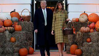 Donald Trump fête Halloween à la Maison Blanche