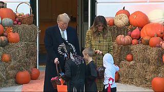 استقبال از هالووین به سبک ترامپ