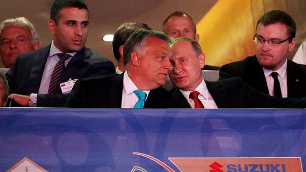 Accordi energetici al centro dell'incontro Putin-Orbán