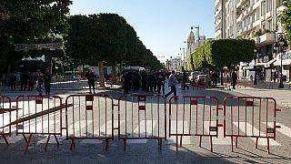 Nő robbantott Tunisz központjában
