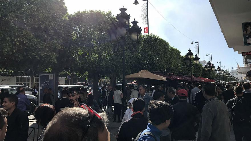 Woman blows herself up in central Tunis, 80 wounded: Interior Ministry