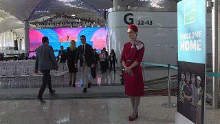 Átadták Isztambul harmadik repterét