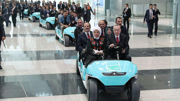 Erdogan inaugure le nouvel aéroport géant d'Istanbul