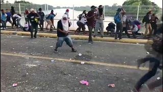 Столкновения на границе Мексики с Гватемалой