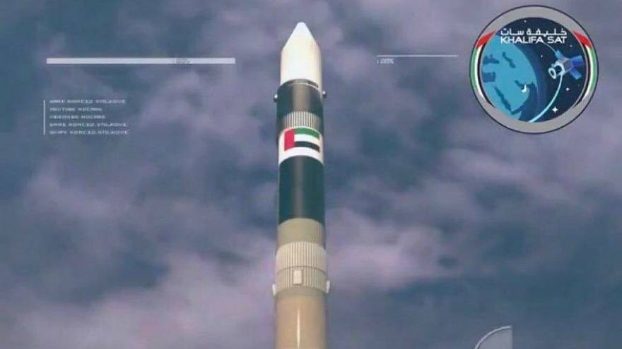 First Emitrati-made satellite launched into space