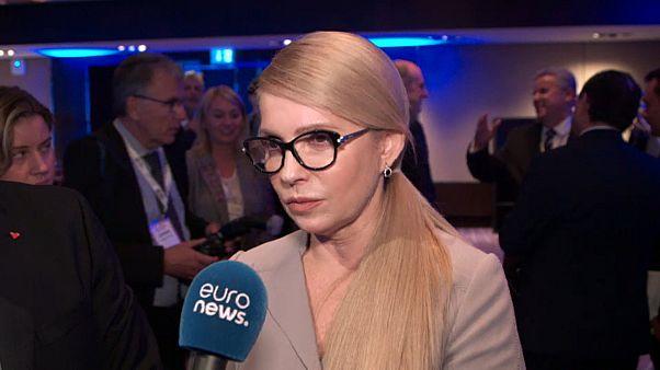 Γιούλια Τιμοσένσκο: «Η συμφωνία του Μινσκ δεν αρκεί»