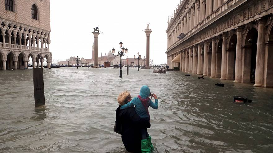 Elárasztotta a víz Velencét - FOTÓK