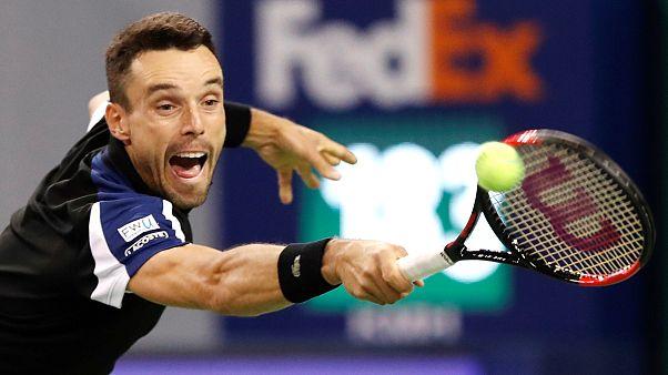 Tennis: Bautista Agut schlägt Johnson