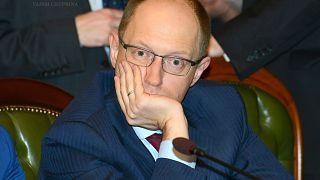 Арсений Яценюк, 2013 г.