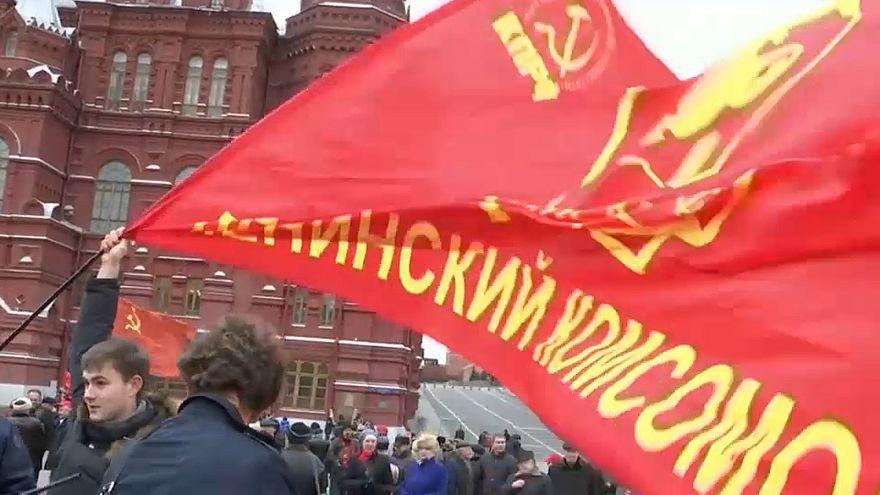 В России отмечают 100-летие ВЛКСМ