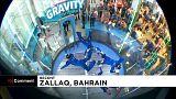 شاهد: عروض شيقة في بطولة كأس العالم للطيران الحر الداخلي بالبحرين