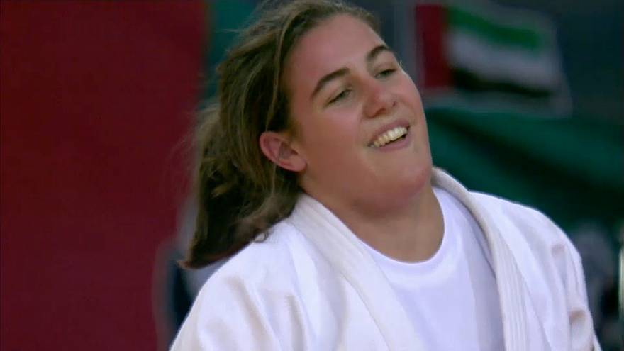 دختر جودوکار هلندی به طلای گرند اسلم ابوظبی رسید