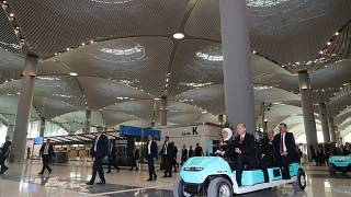 Turkey's Erdogan opens new airport, set to be one of 'world's largest'