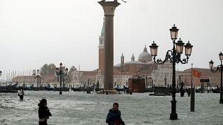 VİDEO | İtalya'da şiddetli yağmur: Venedik su altında kaldı