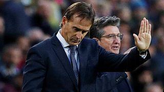 خولن لوپتگی از رئال مادرید اخراج شد