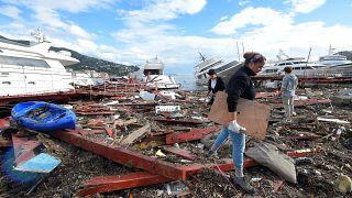 Φονική κακοκαιρία πλήττει την Ιταλία
