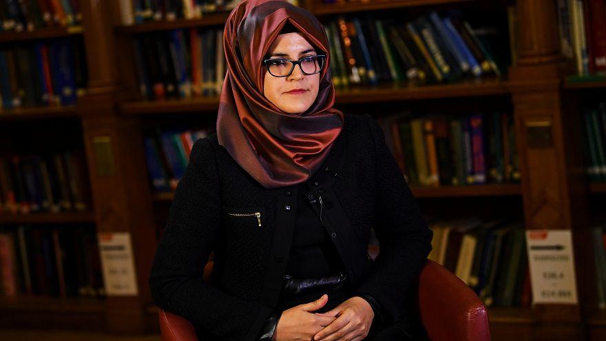 خديجة جنكيز خطيبة الصحفي السعودي جمال خاشقجي في مقابلة مع رويترز 29-10-2018
